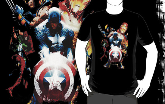 Hello Stonehenge - The Avengers - T-shirt