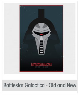 Battlestar Galactica - Old and New