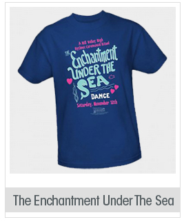 The Enchantment Under The Sea Dance -- Back To The Future Adult T-Shirt