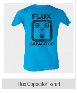 American Classics Back to the Future Flux Capacitor T-Shirt Blue