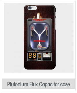 Plutonium Flux Capacitor case