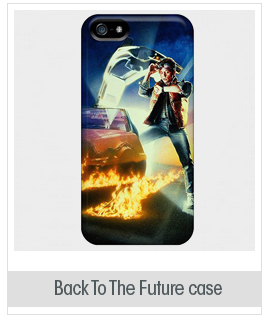Forever Collectibles Back To The Future Marty Hard Snap-on Iphone 5/5s Case