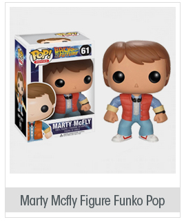 Marty Mcfly: Funko POP! x Back to the Future Vinyl Figure