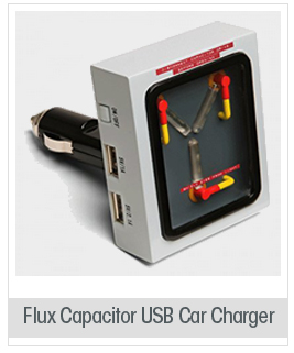 Flux Capacitor USB Car Charger - Back To The Future