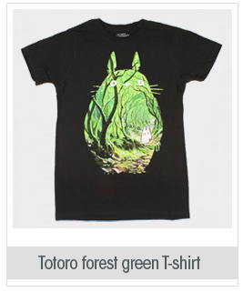 Studio Ghibli My Neighbor Totoro Forest Fill T-Shirt 3XL