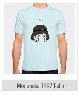 Society6 Men's Mononoke, 1997 T-Shirt