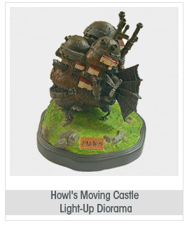 Benelic Howl's Moving Castle: Light-Up Diorama