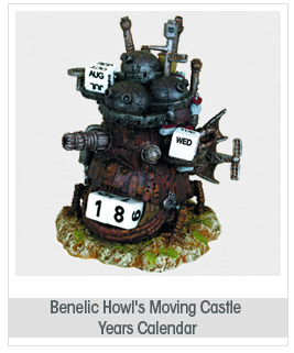 Benelic Howl's Moving Castle Years Calendar