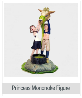Japanese Anime Princess Mononoke Figure