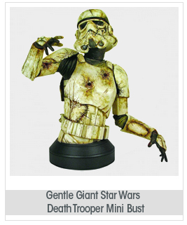 Gentle Giant Studios Star Wars: Death Trooper Mini Bust with Novel