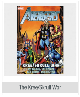 The Kree/Skrull War by Roy Thomas