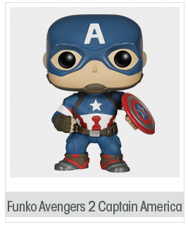 Funko Marvel: Avengers 2 - Captain America Action Figure