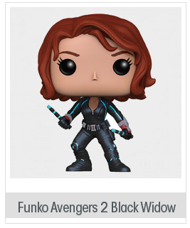 Funko POP Marvel: Avengers 2-Black Widow Action Figure