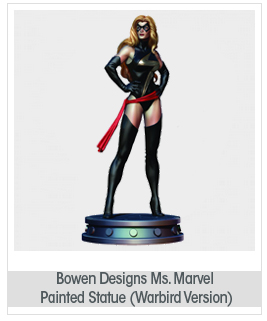 Bowen Designs Ms. Marvel Painted Statue (Warbird Version)