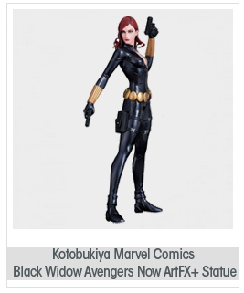 Kotobukiya Marvel Comics Black Widow Avengers Now ArtFX+ Statue