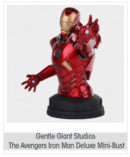 Gentle Giant Studios The Avengers: Iron Man Deluxe Mini-Bust