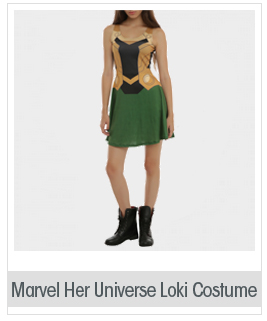 Marvel Her Universe Loki Costume Dress 2XL