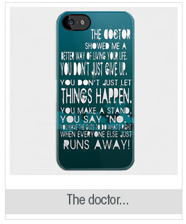 The doctor...