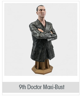 Doctor Who 9th Doctor Maxi-Bust - Free Shipping