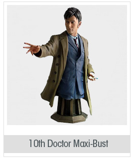 Masterpiece Collection Maxi Bust: 10th Doctor who