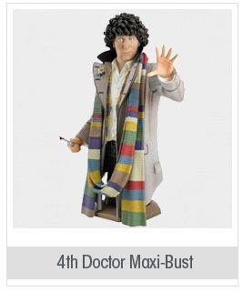 Titan Merchandise Doctor Who: Tom Baker As The Fourth Doctor Mini-Bust