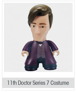 Doctor Who Titans 11th Doctor Series 7 Costume Vinyl Figure