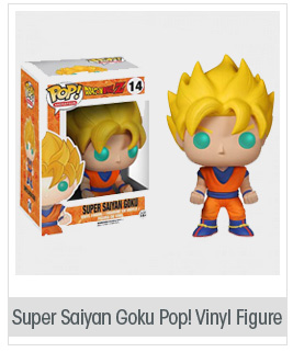 super saiyan goku pop vinyl figure