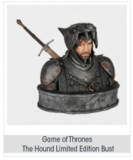 Dark Horse Deluxe Game of Thrones: The Hound Limited Edition Bus