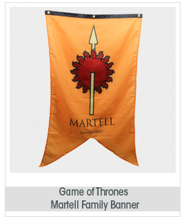 Game of Thrones Martell Banner