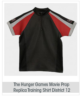 "The Hunger Games Movie Prop Replica Training Shirt ""District 12"""