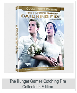 The Hunger Games: Catching Fire Collector's Edition [Blu-Ray + DVD + Digital Copy + Digital Soundtrack] NEW