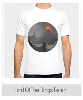 Society6 Men's Lord Of The Rings T-shirt