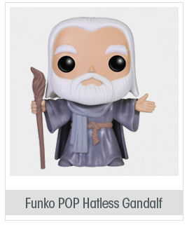 Funko POP Movies: Hobbit 2 Hatless Gandalf Action Figure