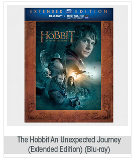The Hobbit: An Unexpected Journey (Extended Edition) (Blu-ray)