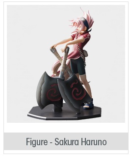 Door Painting Collection Figure - NARUTO: Sakura Haruno [Reviving Sharingan]