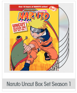 Naruto Uncut Box Set: Season 1, Vol. 1