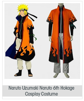Topbill Naruto Uzumaki Naruto 6th Hokage Cosplay Costume Halloween Clothing S-XXL
