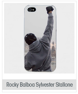 Rocky Balboa Sylvester Stallone Case Fits Iphone 5 Cover Hard Protective Skin 7 for Apple