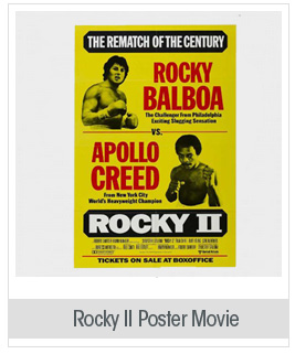 Rocky 2 Poster Movie 11x17 Sylvester Stallone