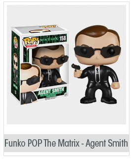 Funko POP Movies: The Matrix - Agent Smith Action Figure