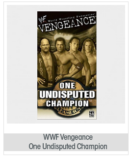 WWF: Vengeance 2001 - One Undisputed Champion [VHS]