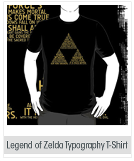 Legend of Zelda Typography