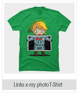 Links x-ray photo