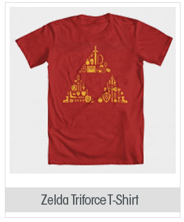 Zelda Triforce Items Men's T-Shirt