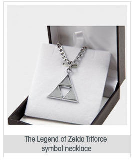 Dancingstars Legend of Zelda Triforce Symbol Necklace