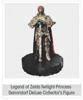 Dark Horse Deluxe Legend of Zelda: Twilight Princess: Ganondorf Deluxe Collector's Figure