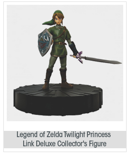 Dark Horse Deluxe Legend of Zelda: Twilight Princess: Link Deluxe Collector's Figure