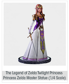 First 4 Figures The Legend of Zelda: Twilight Princess: Princess Zelda Master Arts Center Piece Statue (1:4 Scale)