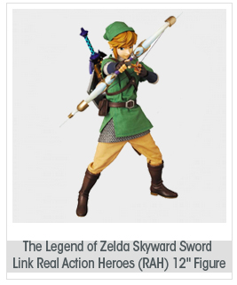 "The Legend of Zelda Skyward Sword Link Real Action Heroes (RAH) 12"" Figure"