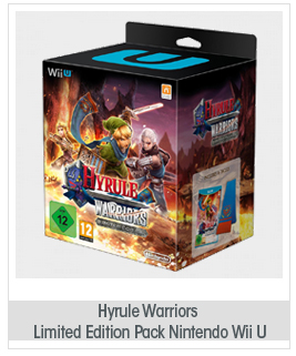 Hyrule Warriors Limited Edition Pack Nintendo Wii U